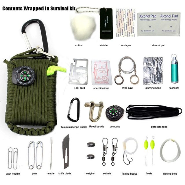29 in 1 SOS Emergency  Equipment for field survival