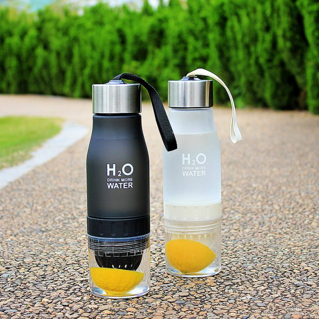650ml  Water Bottle Fruit Infusion