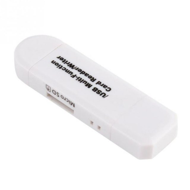 All in One Memory Card Reader MINI USB 2.0 OTG Micro SD/SDXC TF